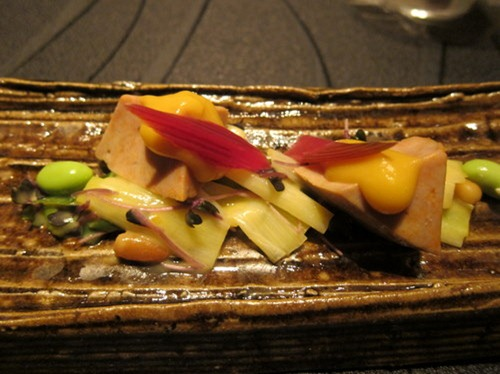 """Premium Monkfish Liver"" from HOKKAIDO with ""Special Miso Sauce"""