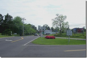 Jackson's March To Fredericksburg, marker JE-1, looking toward Madison, VA at Route 29 & 231 intersection