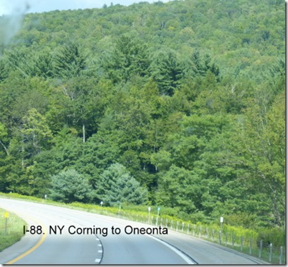 I-88. NY Corning to Oneonta