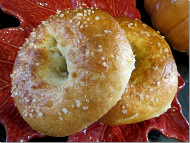 Sea Salt Bagels 10-15-12