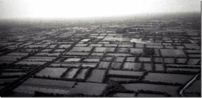 Le bocage du plateau entre Muzon et Chavagnes en 1955
