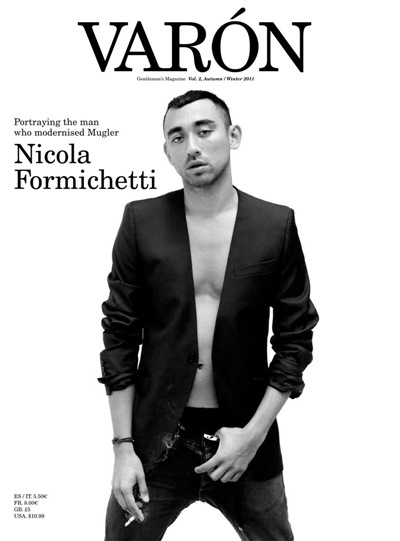 Nicola Formichetti by Kacper Kasprzyk for Varón magazine #2, F/W 2011
