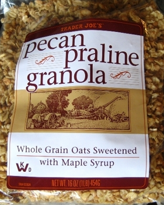 trader joe s pecan praline granola