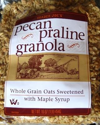 trader joe s pecan praline granola