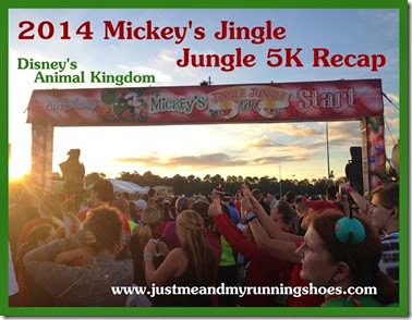 Mickey's Jingle Jungle 5K Recap