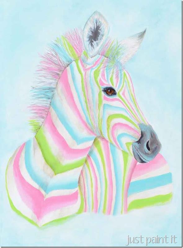 Zebra-Painting-L