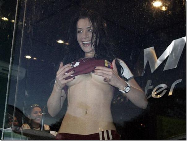 Diosa Canales modelo venezuelana na Copa América (4)