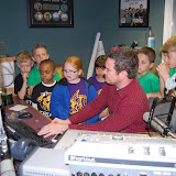 WBFJ Station Tour - Triad Baptist Christan School - Miss Melton's 2nd Grade Class - 3-12-13