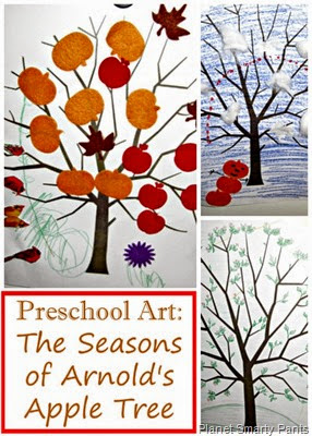 Preschool Open Ended Art for Sasons Theme