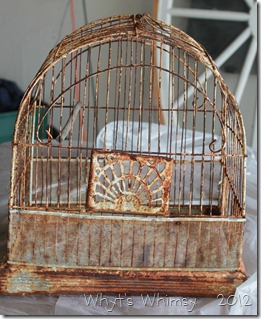 Bird cage Before