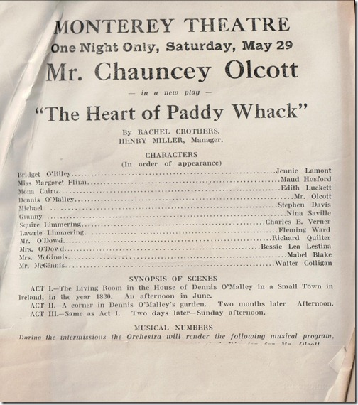 The Heart of Paddy Whack