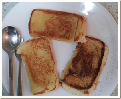 Roti Bakar Mentega Sederhana