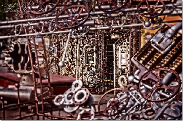 Дверь в Машинариум - Город машин