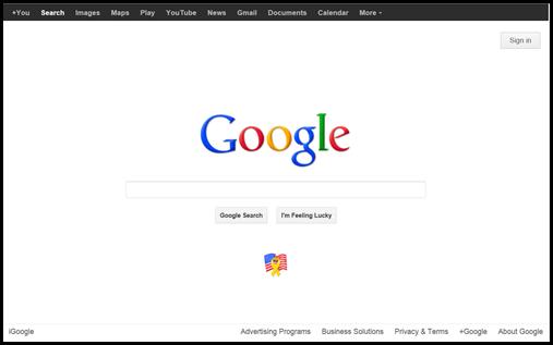 google memorial day 2012