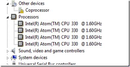 Coprocessor Driver+Windows 7