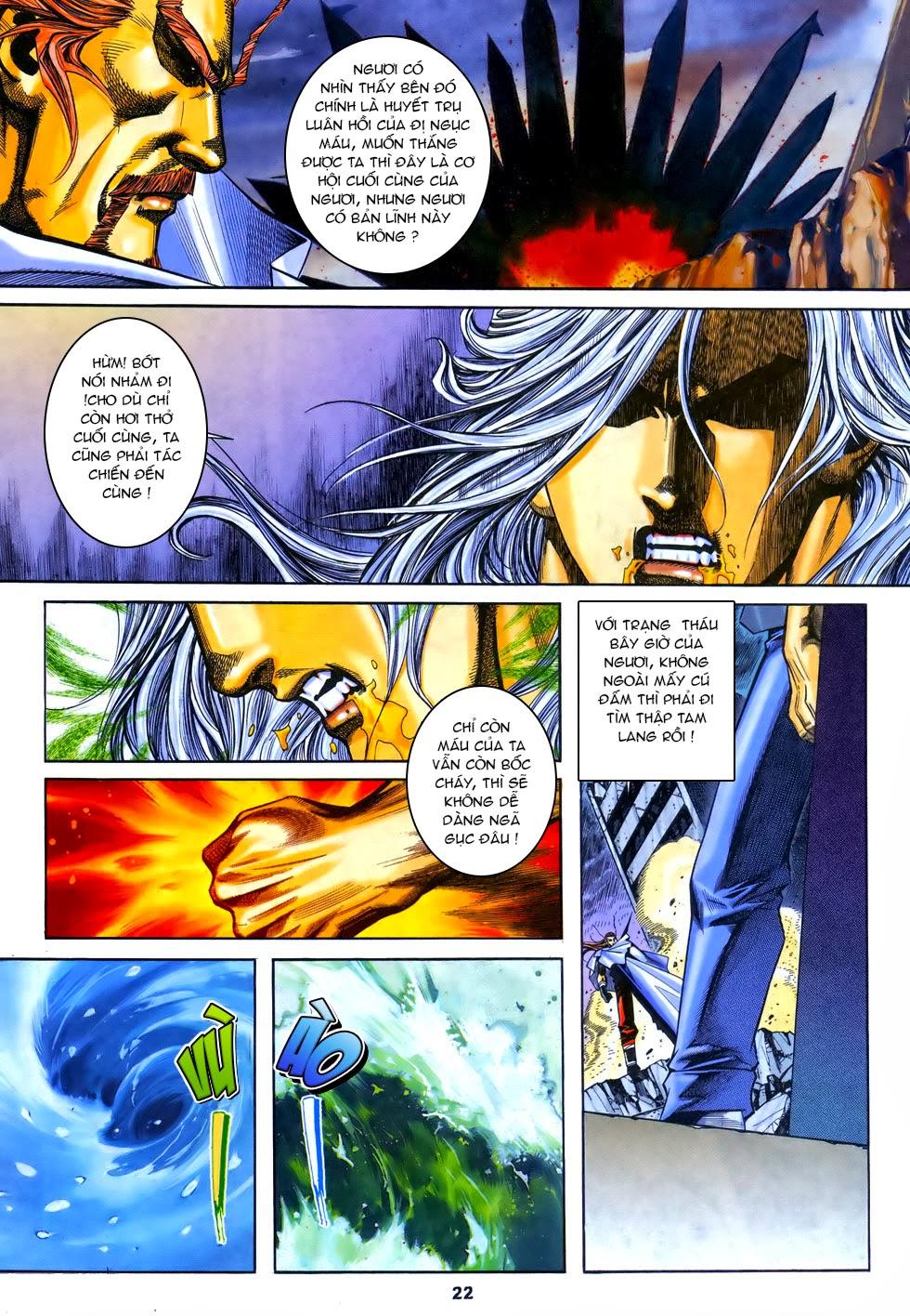 X Bạo Tộc chap 67 - Trang 22