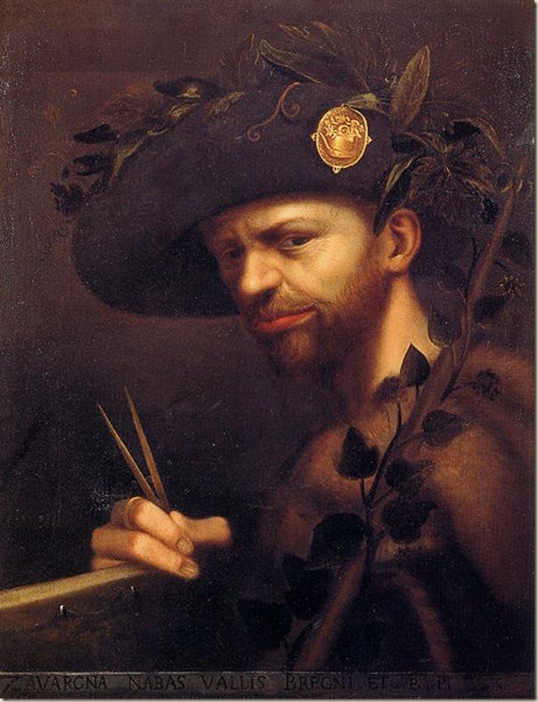 Giovanni Paolo Lomazzo, Portrait d'homme