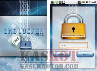 Melindungi SMS di Android dengan Password - SMS Locker