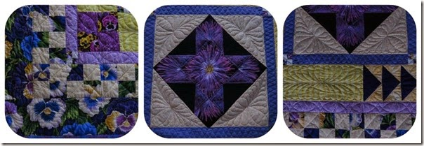 Trishs quilt collageRibbet collage