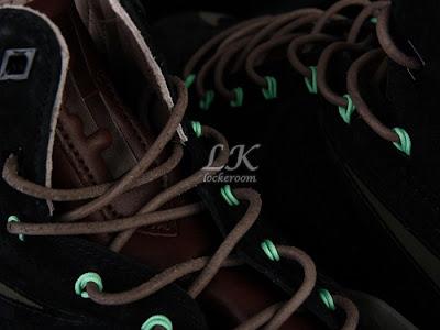 nike lebron 10 sportswear black mint nubuck 6 07 Nike Sportswears LeBron X EXT Black / Mint (607078 001)