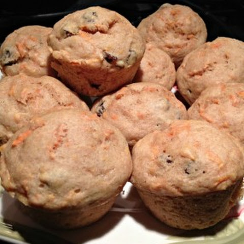 Carrot and Raisin Breakfast Muffins