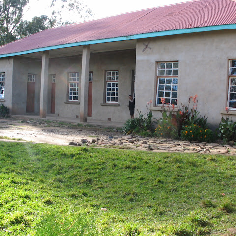 The school has large classrooms as they have to hold 70 pupils in each class.