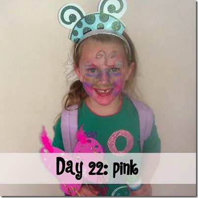 Day 22 pink