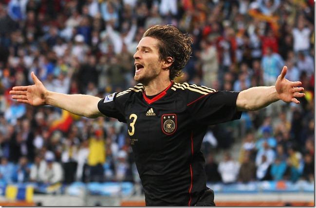 Arne Friedrich na Copa de 2010