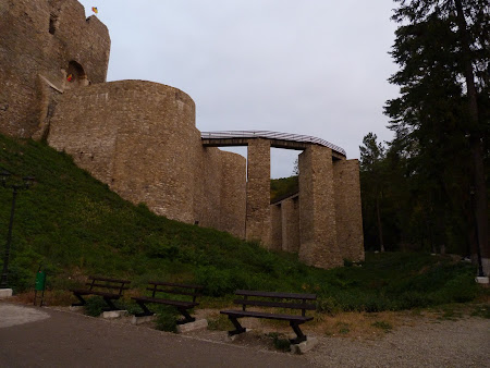 Things to see in Neamt: Neamt citadel