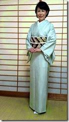 上品な着物と帯が素敵に (2)