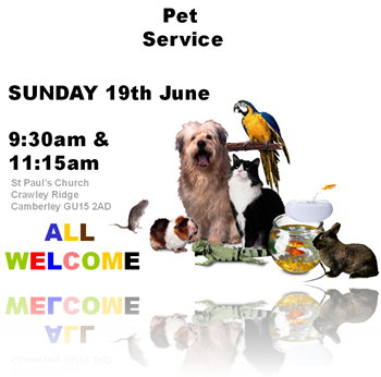 St Paul's Pet Service 2011