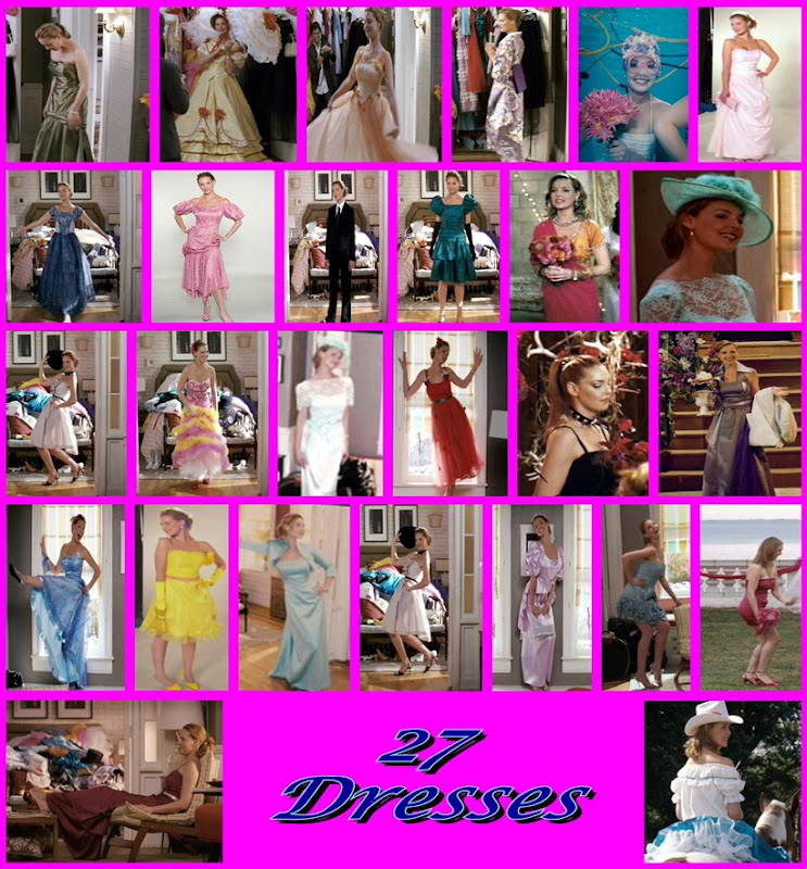 27 Dresses Collage