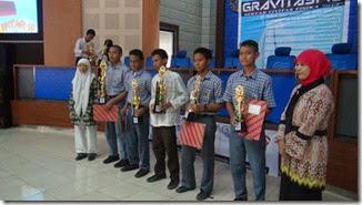Pemenang gravitasi 2013 himafi unm