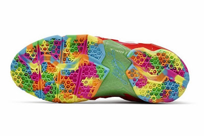 nike lebron 11 gs fruity pebbles 4 01 Kids Nike LeBron XI GS Laser Crimson Collection Available Now