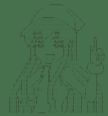 イカ娘 指差し(侵略!イカ娘)