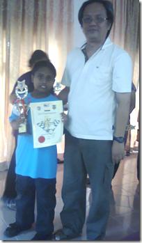 Ken Alroy Devan Noel Devan, U-8 Champion