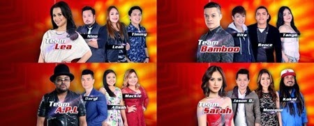 The Voice of the Philippines Top 12