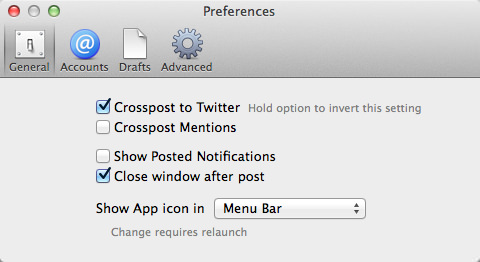 Sail app net twitter crosspost mac2
