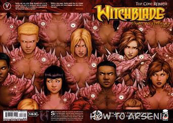 Actualización 20/02/2015: The Witchblade - ntellez nos trae unos números mas: The Witchblade #153 a #158. Gracias a Floyd Wayne y k0ala.