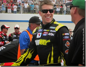 AAA Love that Carl Edwards smile 6-2-13