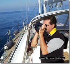 Max con binocolo Steiner Navigator