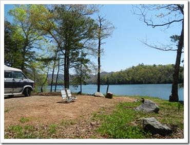 2013-04-20 Santeetlah, NC - Campsite (2)