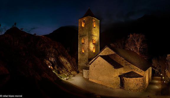 Esglesia romanica de Sant Joan de Boi, segles XI i XII.Patrimoni Mundial (Unesco)La Vall de Boi, Alta Ribagorca, Lleida
