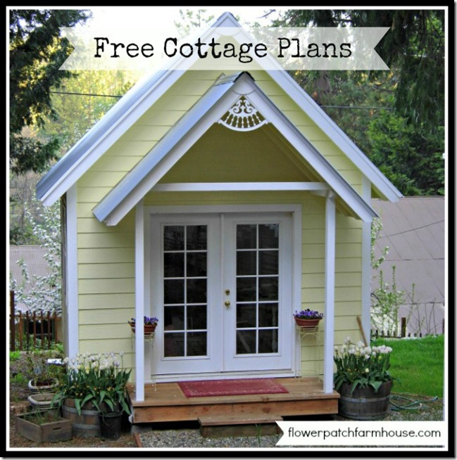 Backwoods cottage build your own crafting cottage or for Build your own bungalow