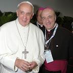 Fotos dos Bispos da Arquidiocese de Salvador com o Papa Francisco