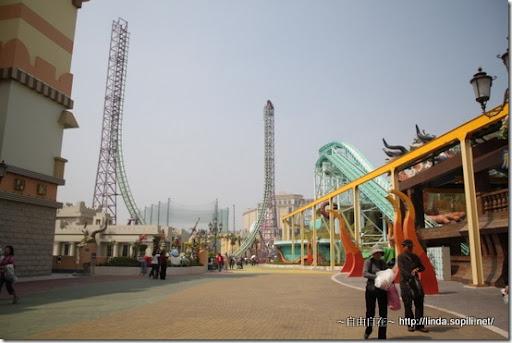 高雄義大遊樂世界-極限挑戰4