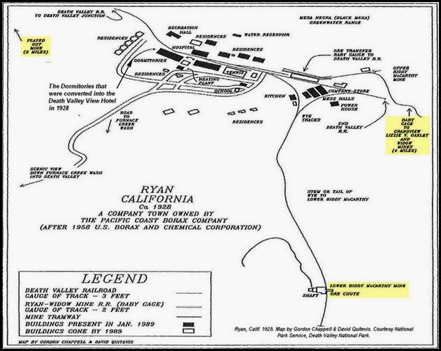 Ryan Map - Circa 1928