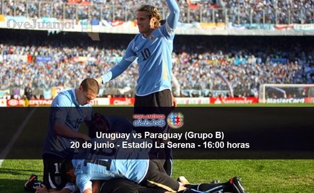 Uruguay vs Paraguay - 20 de junio - Grupo B