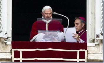 VATICAN POPE ANGELUS