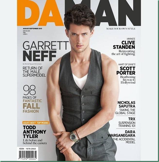 Garrett Neff covers Da Man August/Sept. 2013